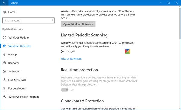 Windows-Defender-in-Windows