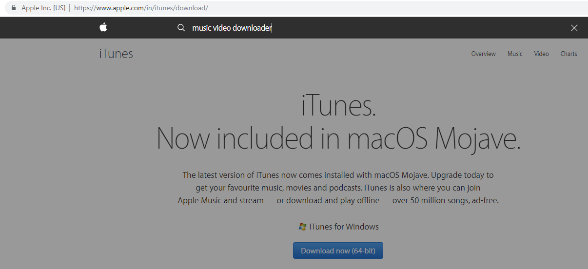itunes music video downloader