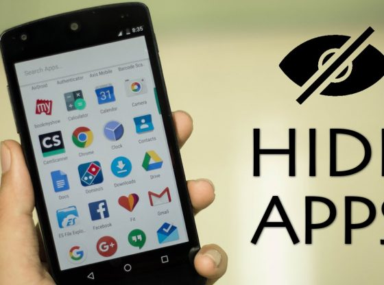 hide apps on an android phone