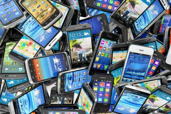 recycling used smartphones