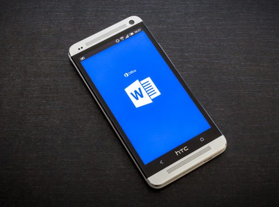 access ms word using android