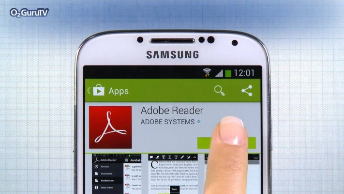 access ms word using adobe reader for android