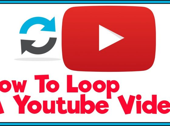 how to loop youtube video