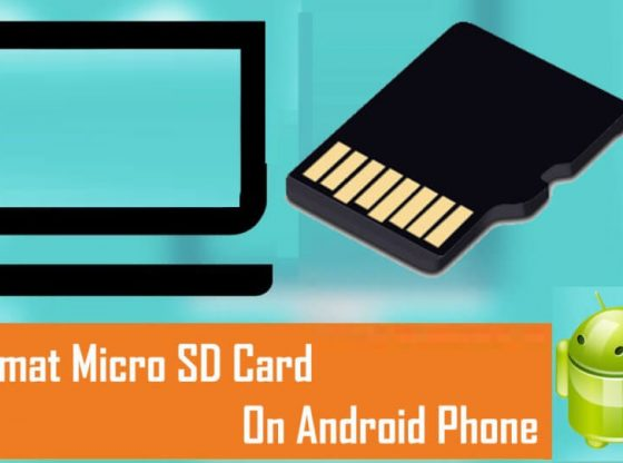 how to format sd card on android mobile